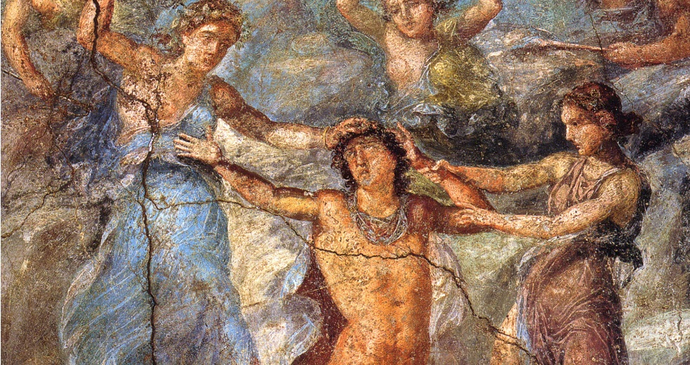 Being human when surrounded by Greek gods, by M  J  Lee
