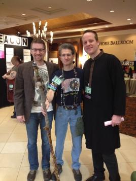 left to right: John Halstead, Jon Cleland Host, Brandon Sanders