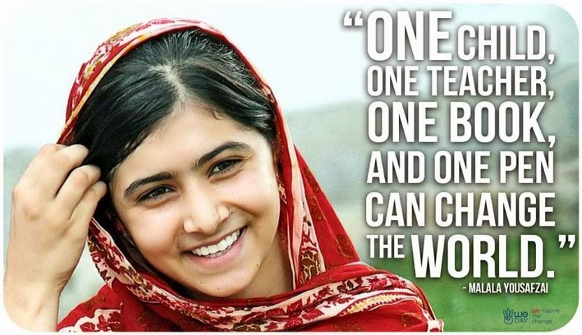 Malala: Strength, Activism and Inspiration • SJS