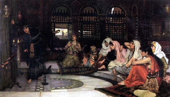 John_William_Waterhouse_oracle_1884