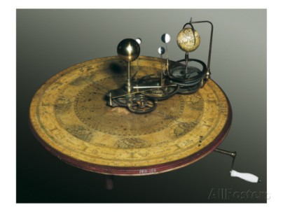 mechanical-apparatus-that-shows-the-earth-s-rotation-around-the-sun