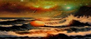 darla96,animism,art-arty-creative-concept-darla96-darla-photoshop-ocean-night-stars-waves-water-beautiful-sky-soul