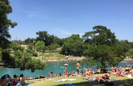 Barton Springs Pool, August 2015